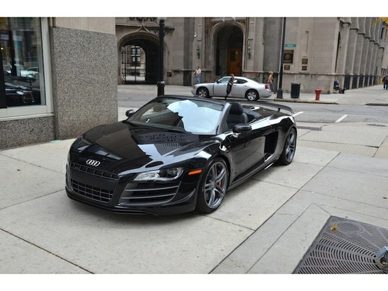 2012 Audi R8 GT Spyder Quatro R-Tronic 1 of 333 Ever Made!! I know it doesn't belong in my closet. I want it anyways:)