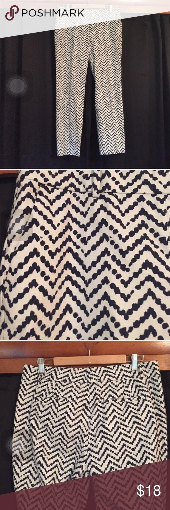 Ann Taylor Chevron Pants 10 Ann Taylor Chevron Pants 10 Ann Taylor Pants