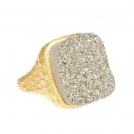 Silver Dusty Ring
