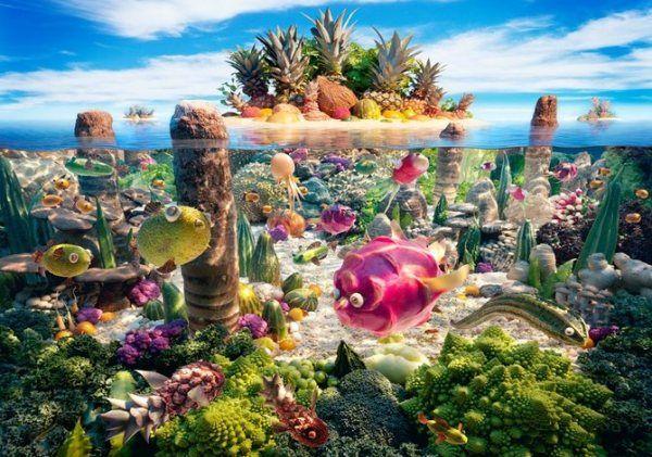 Food Landscapes by Carl Warner