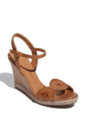 cute wedges from jack rogers $198: Brown Wedges, Jack Rogers Wedges, Jack Wedges, 2Dayslook Wedgesfashion, Jack O'Connell, Clare Wedge, Jack Roger Wedges, Jack Rodgers Wedges