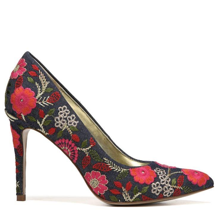 Carlos BY Carlos Santana Women's Posy 2 Pump Shoes (Naranja Fabric)