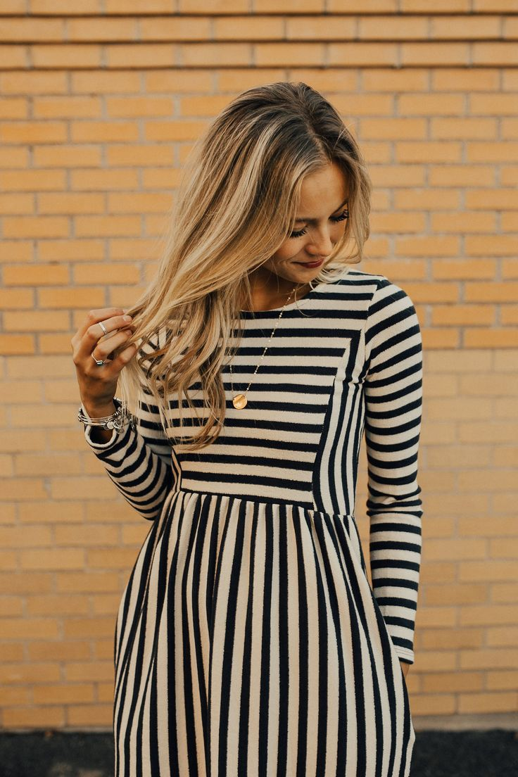 Elm Stripe Dress | ROOLEE