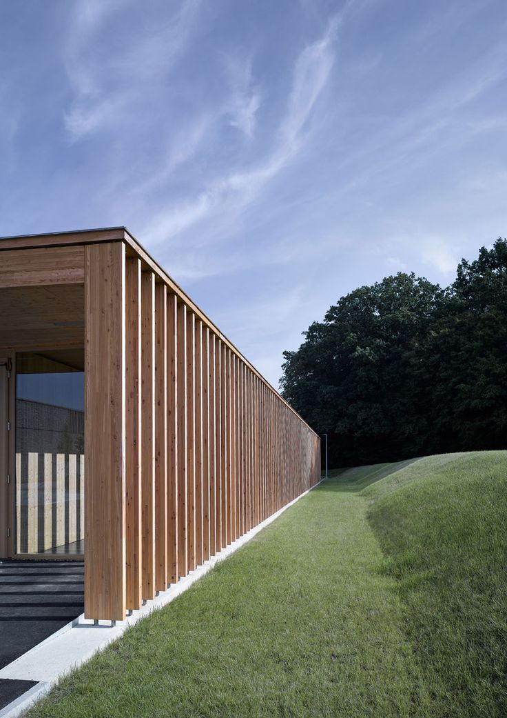 Aalen Cafeteria - Timber Brise Soleil