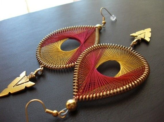 Florida State Seminoles Game Day Thread Earrings by FunkyLobez, $28.00