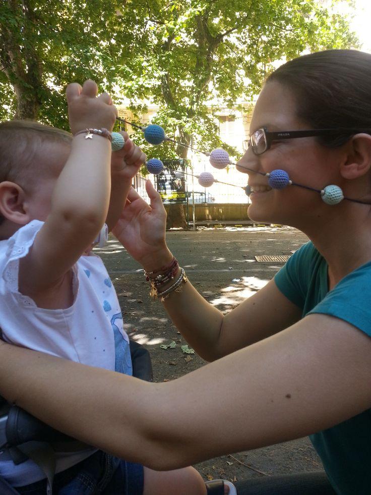...effetto collana da allattamento!
