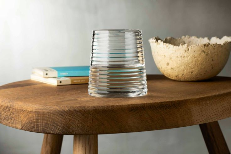 'Poem' Our water tumbler goes hand and hand with our 'Poem' water jug. Perfect for table, office or bedside.   All glassware available from NW3 Interiors with Free interior design consultation available in London. Contact olivia@nw3inteirorsltd.com or call 02072094442