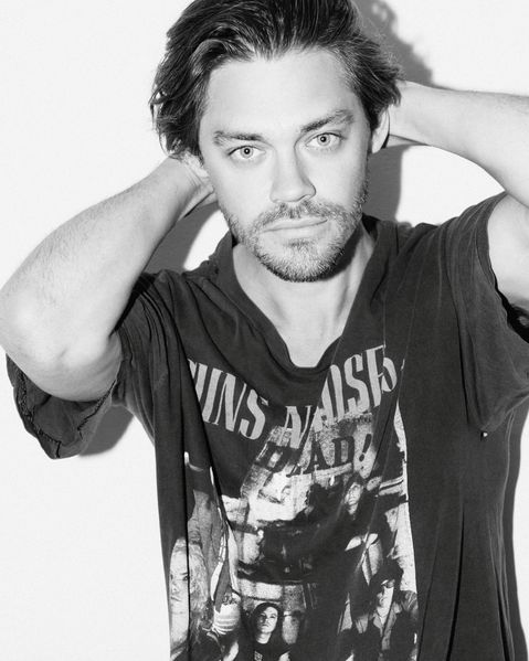 Tom Payne (Paul 'Jesus' Monroe) for Damaged Magazine