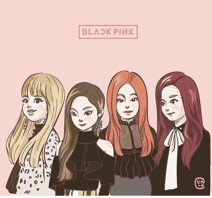Download Lagu Solo Black Pink: Gambar Blackpink Animasi