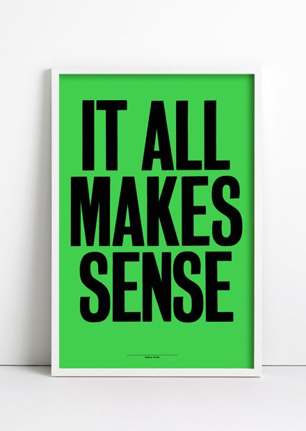 Ongoing obsession with Anthony Burrill