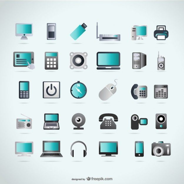 Free Device Vector Shapes