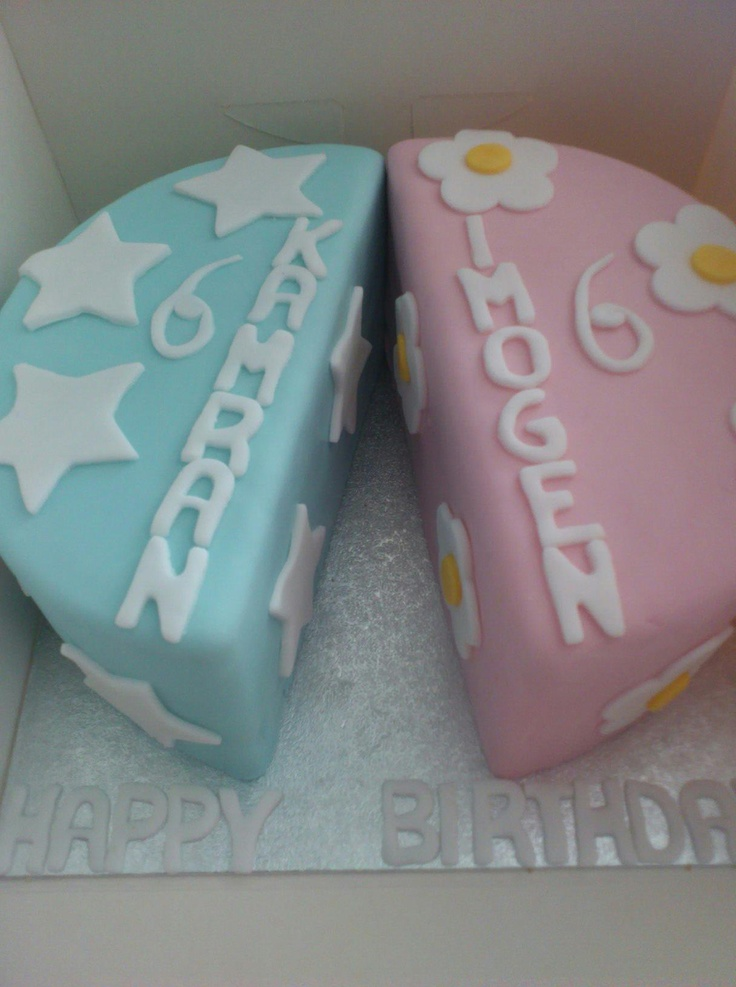 Cake Ideas For Boy Girl Twins : Best 25+ Twin birthday cakes ideas on Pinterest