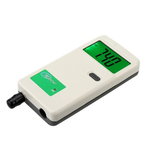 Professional Portable pH Meter with LCD Backlit Display Acidimeter Industry and Experiment Analyzer Rechargeable pH-Meter Measure Household Drinking Water Quality Analysis Device