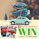 Heritage Classic 4x4 Insurance **12 Days Of Christmas Giveaway**  Christmas has come early! Everyday for 12 days we're giving away a year's FREE subscription to Land Rover Monthly magazine worth £42.00  Simply subscribe to our newsletter to win http://www.heritagecarinsurance.co.uk/newsroom/news-and-articles/christmas-giveaway/