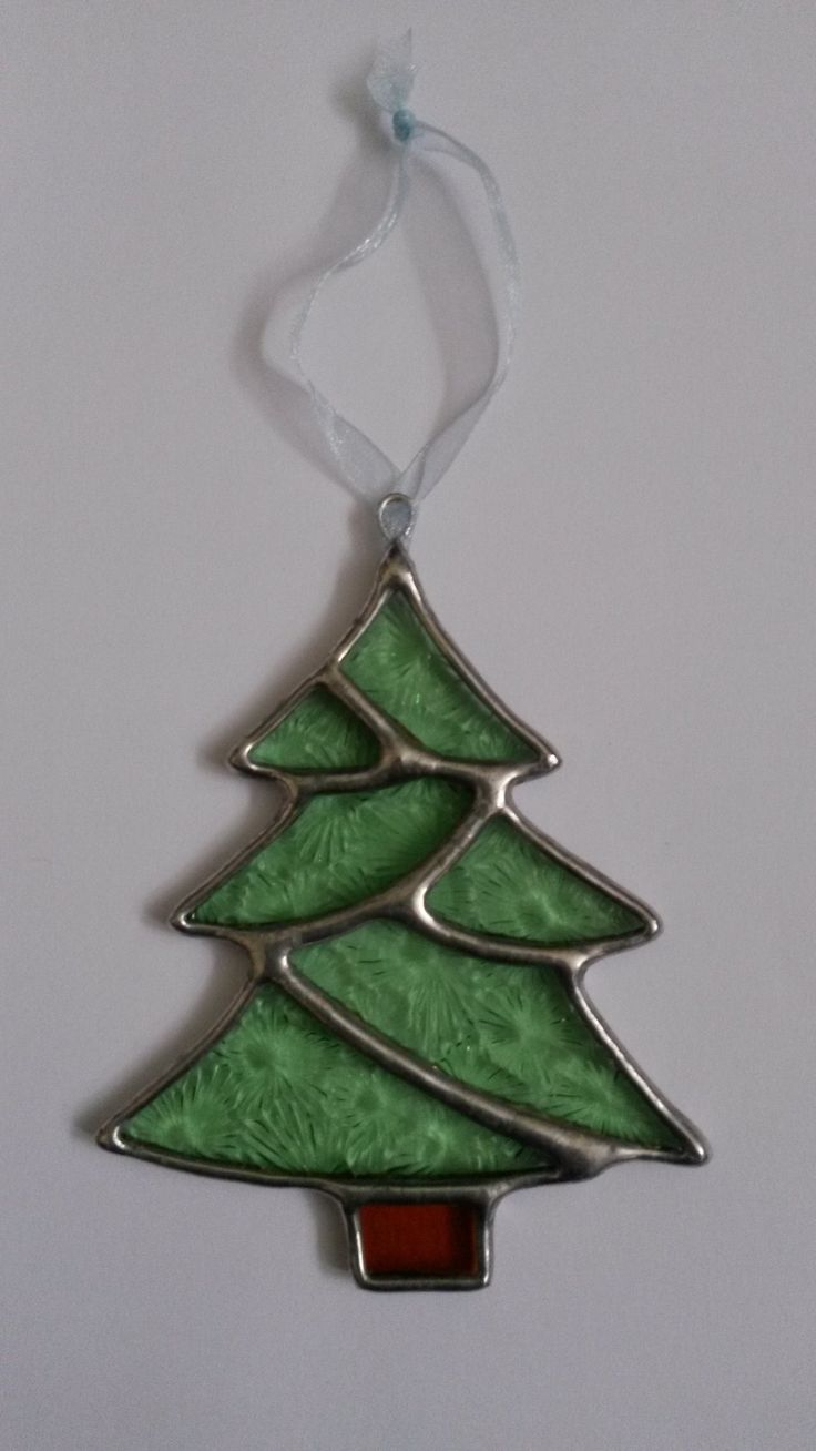 Glass christmas tree with ornaments miniature - Christmas Tree Pattern Stained Glass Google Search