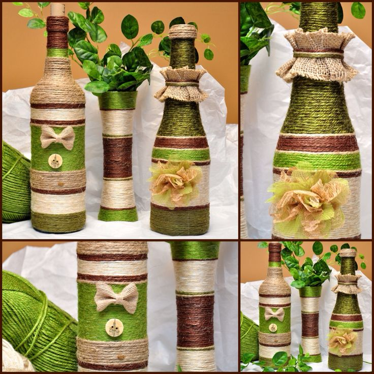 Green, Beige and Brown Set
