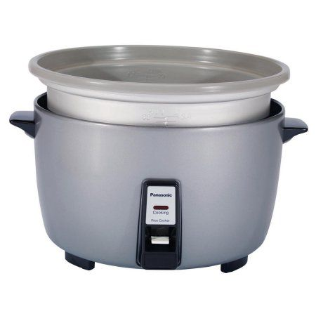 Panasonic Rice Cooker with Automatic Cooking Feature, Silver