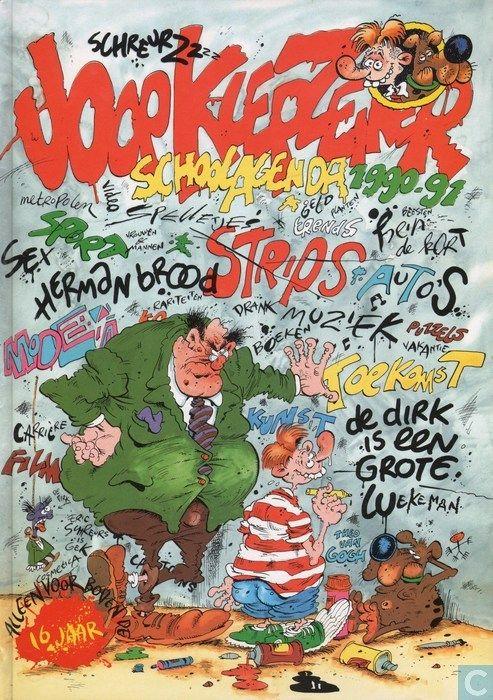 Strip - Joop Klepzeiker - Klepzeiker schoolagenda '90/'91