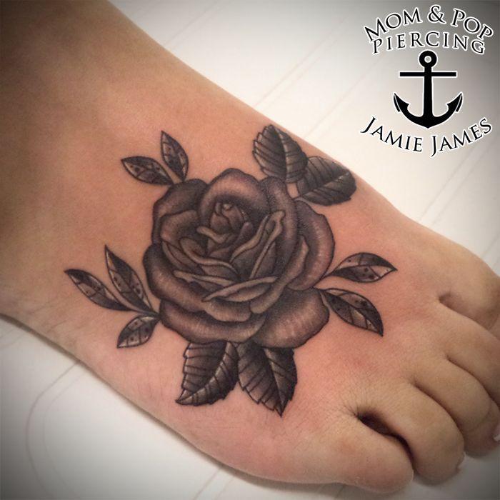 10 Foot Rose Tattoo Designs: Best 25+ Rose Foot Tattoos Ideas On Pinterest