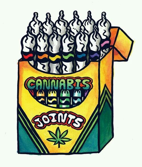 Crayola joints Repinned by Fun Weed Pics @funweedpics