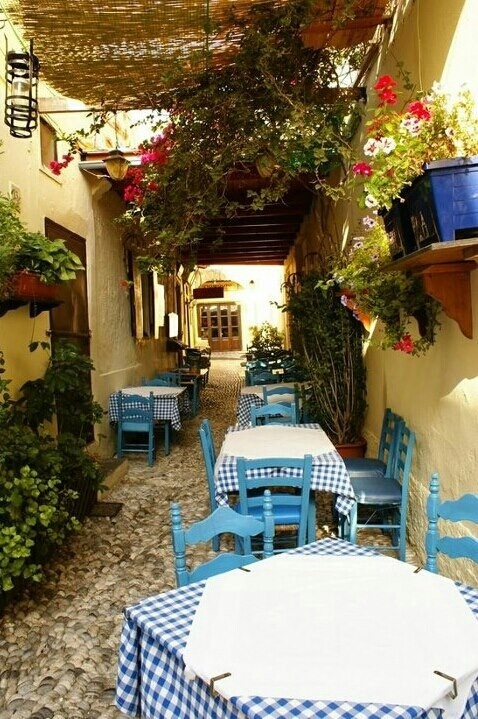 Rhodes island - Greece http://www.yourcruisesource.com/two_chefs_culinary_cruise_-_istanbul_to_athens_greek_isles_cruise.htm