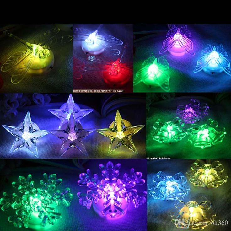 led butterfly night light 7 colors changing light led light dragonfly night light holiday lighting christmas lights holiday decor light - Christmas Lights Online