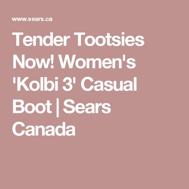 Tender Tootsies Now! Women's 'Kolbi 3' Casual Boot   Sears Canada