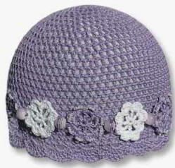beautiful brim of crocheted hat....This site has lots of free patterns!!