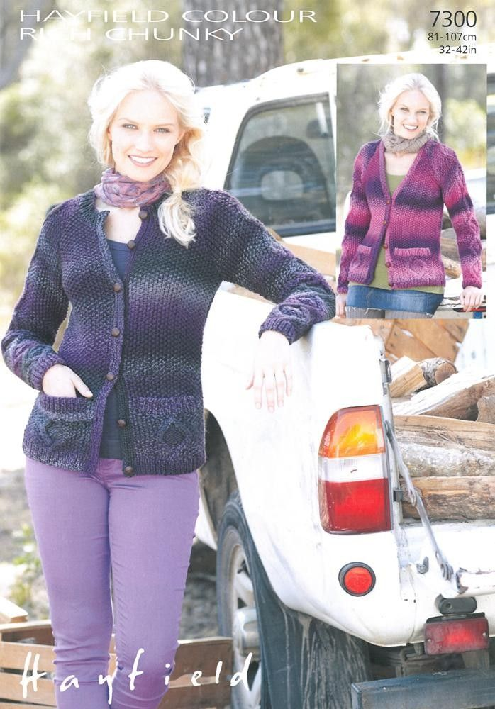 55 best Knitted / crochet women's cardigans and jumpers images on ...