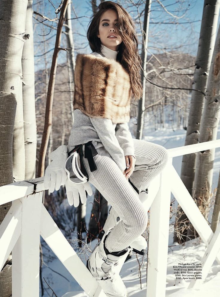 visual optimism; fashion editorials, shows, campaigns & more!: let it snow: emily didonato by benny horne for vogue australia june 2014 #fashion #photography