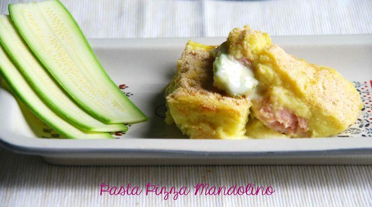 Cocotte potatoes zucchini and ham