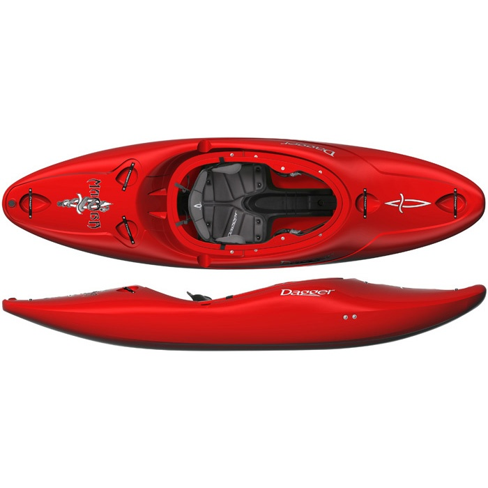 powerful red kayak by Dagger If I ever try white water kayaking.