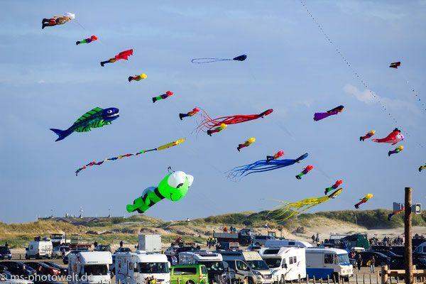 #Drachenfest #sanktpeterording #Strand #Nordsee #spo