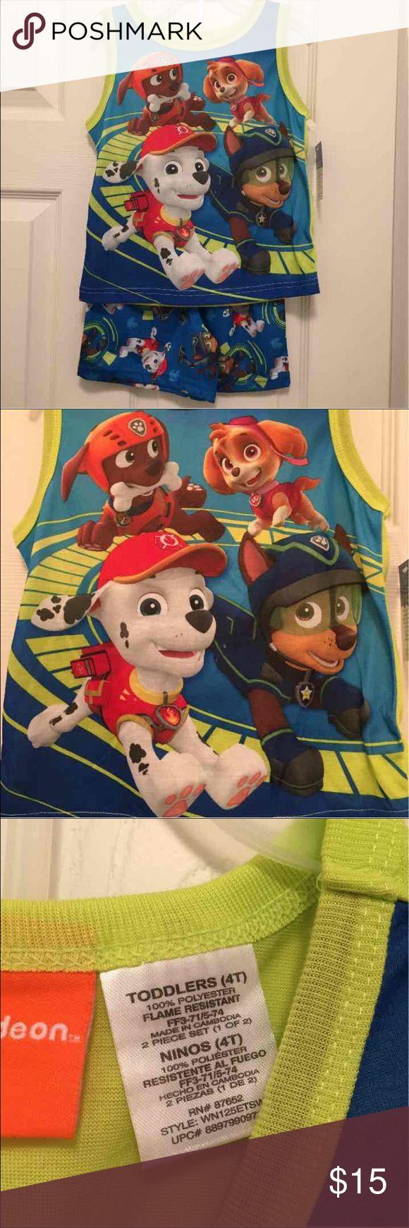 NWT Paw Patrol PJs Size 4T Brand new with tag Paw Patrol Zoomer, Skye, Marshall & Chase Pajamas  Size 4T    - Pajamas Pajama Sets