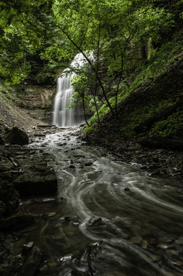 Tiffany Falls, Hamilton, Ontario, Canada