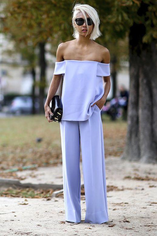 @roressclothes closet ideas #women fashion outfit #clothing style apparel  Off The Shoulder jumpsuit