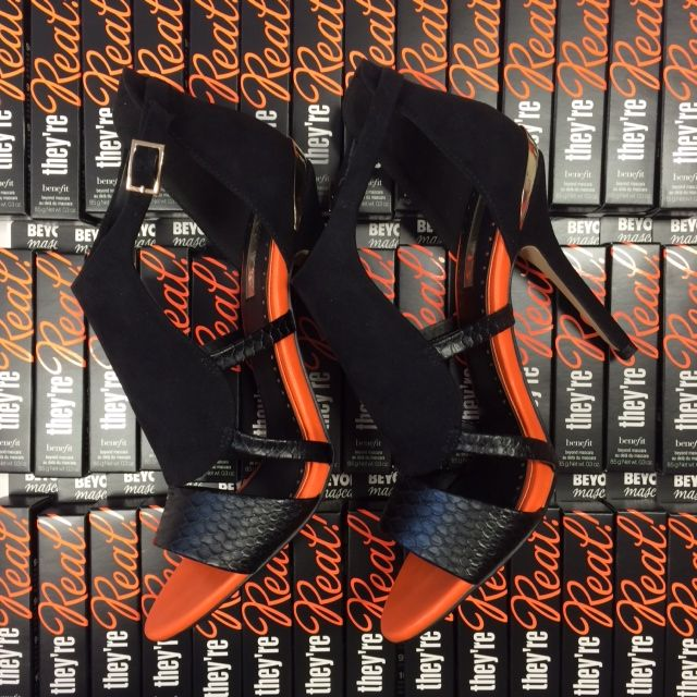 We are planning our #lashtotoe look for Saturday night and there's only one pair of shoes we'll be wearing!
