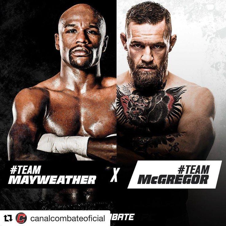 #Repost @canalcombateoficial (@get_repost) ・・・ Quem vence? ⚡️ #MayMacNoCombate . Assista a luta do século HOJE, a partir de 19h35, AO VIVO e SOMENTE no Combate. Compre já! (Link na Bio) . . #Combate #ProntoPraLuta #MayMac #ConorMcGregor #FloydMayweather #Mayweather #McGregor #Boxing #Boxe #LasVegas #Challenge #Event #Champion #UFC #UFCnoCombate #MMA #Boxeo #TheMoney #TheNotorious #Sabado #Brasil