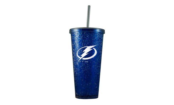 Tampa Bay Lightning Freezer Tumbler W/ Straw - Tampa Bay Sports