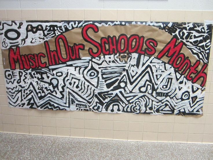 Bulletin Boards to Remember: Music in Our Schools Month Mural: Months Murals, Art Auction, Fun Bulletin, Interesting Art, Bulletin Boards, Art Months, Collection Link, Boards Ideas, Art Rooms