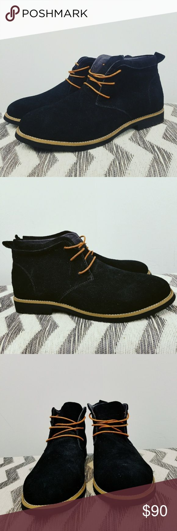 "Spotted while shopping on Poshmark: Mens ""Andre"" Casual Suede Leather Chukka Boots! #poshmark #fashion #shopping #style #Moda Boutique #Other"