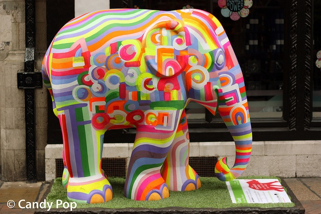 Candy, Elephant parade London