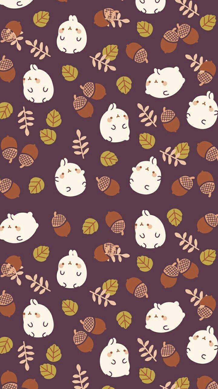 #molang #fall #wallpaper