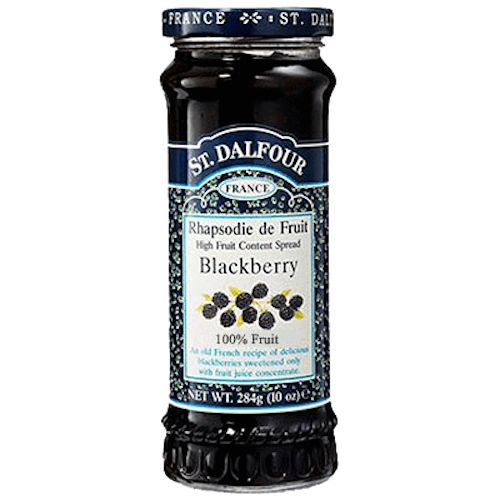 A delicious thick cut orange preserve / jam. An Old French recipe of delicious Blackberries sweetened only with fruit juice concentrate. Sugar free