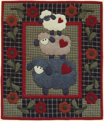 Ewe can never go wrong with lambs. Quilters can make me this quilt any day!! : )
