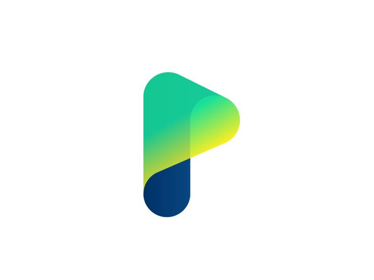 Play / Online Streaming + P Letter / Infinity Logo Design by Adrian Brand - Dribbble