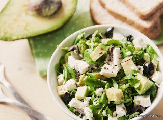 Denny Chef Blog: Insalata con feta e avocado