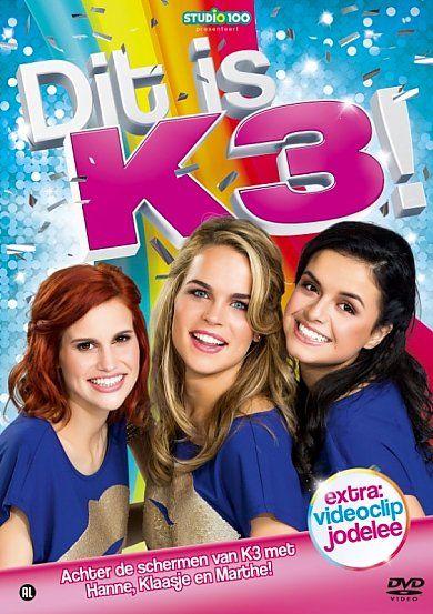 K3 - Dit is K3! (DVD) #K3 #ditisK3! #ditisK3 #dvd #aanbieding