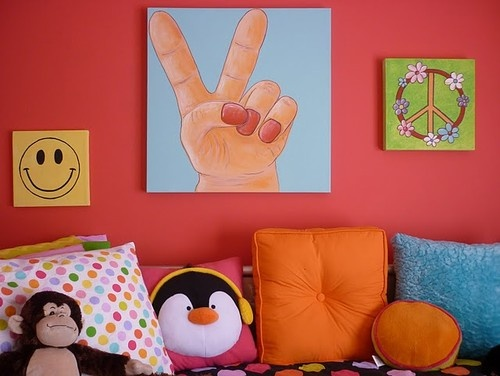 17 best images about the kids rooms on pinterest diy for Funky girl bedroom ideas