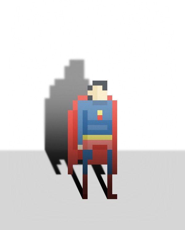 トルコのアートディレクター Ercan Akkaya氏が描いたスーパーヒーローのドット絵を dailyinspiration.nlより紹介します。バットマンやスーパーマンなどアメコミのヒーローを、極めてシンプルかつ驚くほど特徴をとらえて表現しています。記事の最後にヒーローの名前付き一覧があります。  Ercan Akkaya: 41? 29!                  ソース Pixel Superheroes - Daily Inspiration